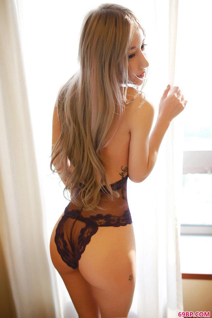 蕾丝花边情趣内裤妹子风情性感_西西人体E艺术图片
