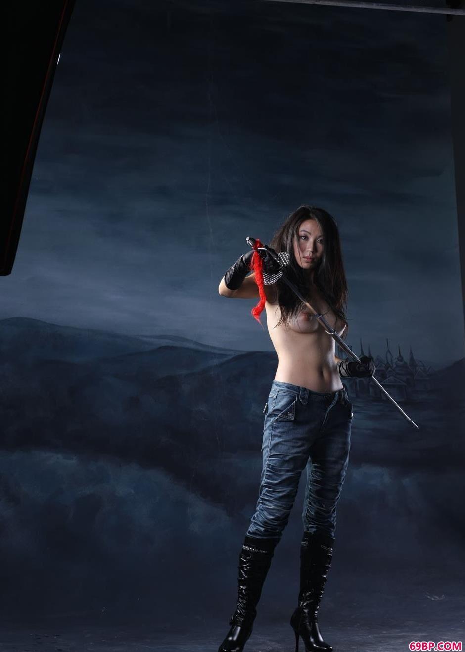 剑与女人超模金灵2