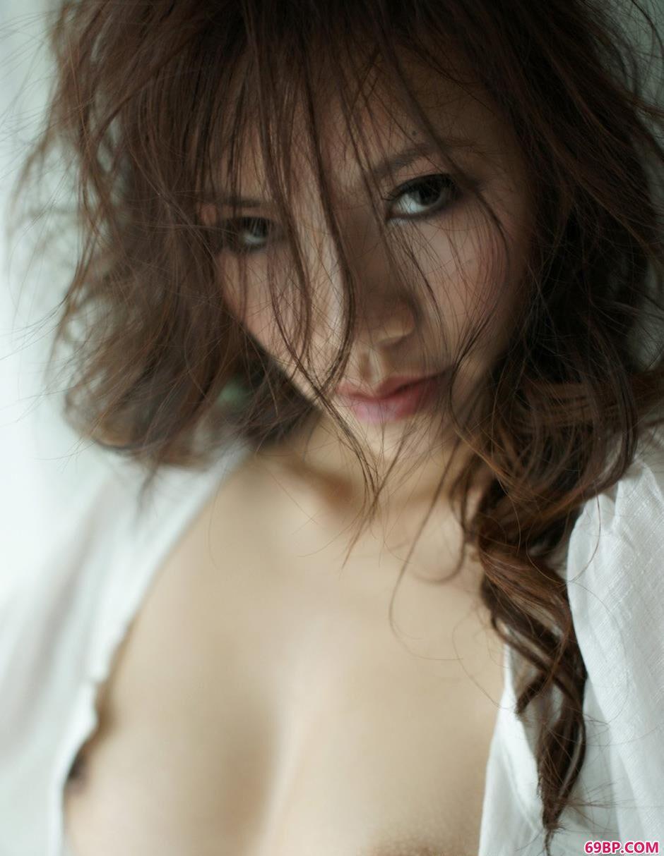 长头发魅力超模紫依4