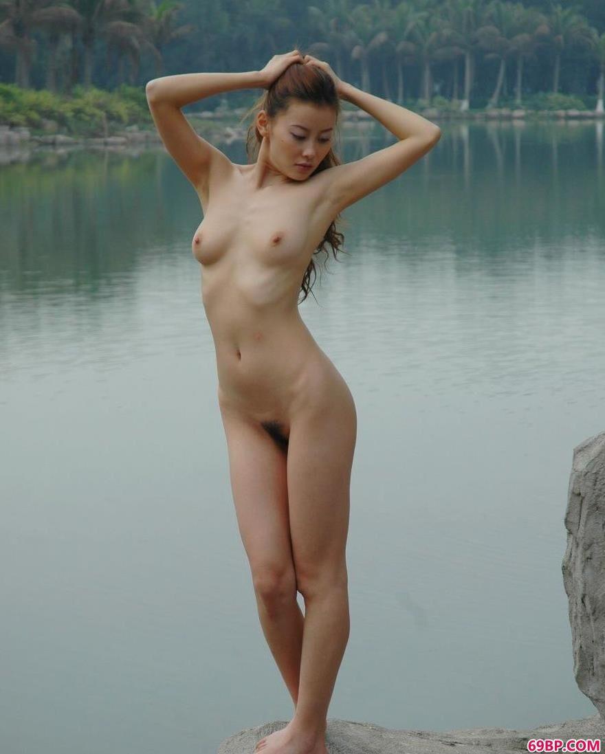 裸模王丹深圳海上田园人体图片B1_王芳人体艺术
