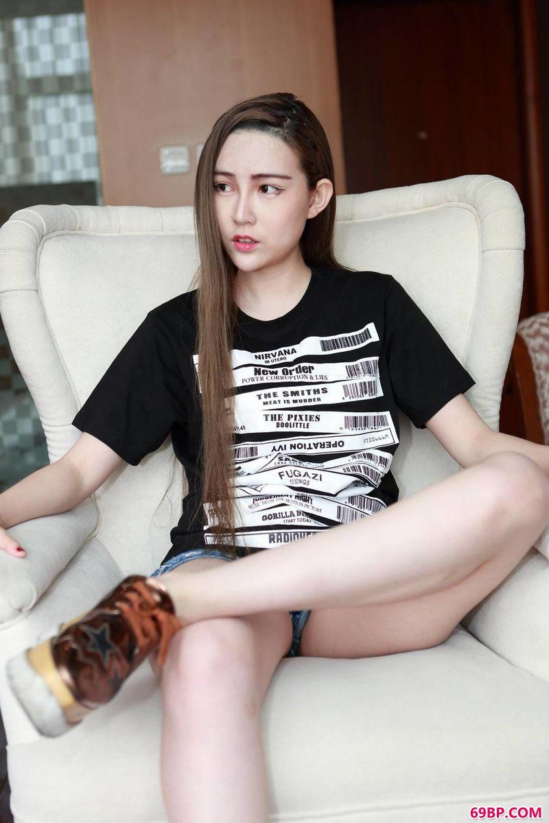 潮女赵小卓的美体